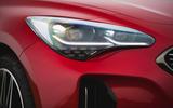 4 Kia Stinger GT S 2021 UK review headlights