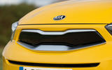 4 Kia Stonic 48v 2021 UK first drive review nose