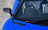 Lamborghini Aventador S 2018 first drive review windscreen
