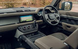Land Rover Defender 110 2020 UK first drive review - interior