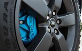 4 Land Rover Defender V8 2021 UK FD brake calipers