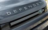 4 Land Rover Defender V8 2021 UK FD front grille