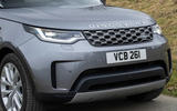 4 Land Rover Discovery D300 2021 UK first drive review nose