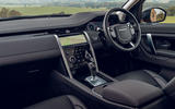 Land Rover Discovery Sport 2019 UK first drive review - cabin