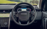 Land Rover Discovery Sport P200 2019 UK first drive review - dashboard