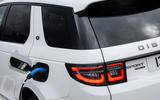 Land Rover Discovery Sport P300 PHEV 2020 UK first drive review - charging port