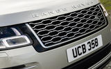 Land Rover Range Rover D300 2020 UK first drive review - nose