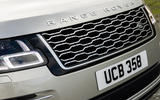 Land Rover Range Rover D350 mild hybrid 2020 UK first drive review - nose
