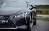 4 Lexus LC500 2021 UK FD headlights