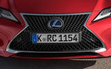 Lexus RC 300h 2019 first drive review - nose
