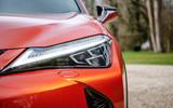 Lexus UX 2019 UK first drive review - headlights