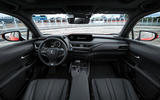 Lexus UX 250h F Sport 2018 first drive review cabin