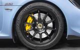 Lotus Exige Sport 410 2018 review wheels