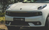 Lynk&Co 01 PHEV 2019 first drive review - front end