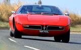Maserati Bora - front