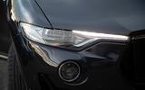 Maserati Levante GranSport V6 2018 first drive - headlights