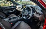 Mazda 6 2018 first drive review cabin