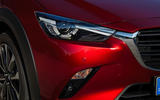 Mazda CX-3 2018 first drive review headlights