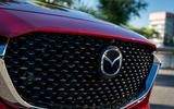 Mazda CX30 2019 first drive review - front grille