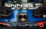 McLaren Senna GTR 2019 first drive review - rear wing