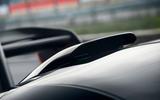 McLaren Senna 2018 UK first drive review roof aero