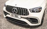 4 Mercedes AMG GLE 63S 2021 UK FD nose