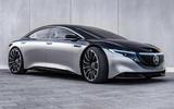 Mercedes-Benz AMG EQS render - static front