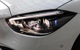 4 Mercedes Benz C Class 2021 FD headlights