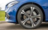 4 Mercedes Benz C Class C300e 2021 review alloy wheels