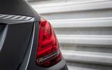 Mercedes-Benz C-Class C200 AMG Line 2018 UK review rear lights