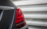 Mercedes-Benz C-Class C200 AMG Line 2018 UK review rear lights