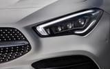 Mercedes-Benz CLA 250 2019 UK first drive review - headlights