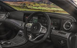 Mercedes-Benz CLS 450 2018 UK review dashboard
