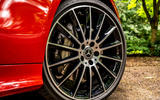 Mercedes-Benz E-Class e450 Cabriolet 2020 UK first drive review - alloy wheels
