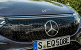 4 Mercedes Benz EQS 2021 UK LHD FD nose