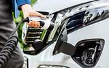 4 Mercedes Benz EQV 2021 LHD first drive review charging port