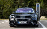 Mercedes-Benz S Class S580e 2020 first drive review - nose