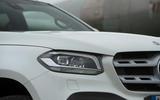 Mercedes-Benz X-Class longterm review headlights