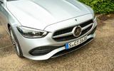4 Mercedes C Class Estate 2021 UK LHD FD nose