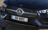 Mercedes-Benz CLA Shooting Brake 220d 2020 UK first drive review - front end