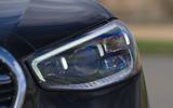 4 Mercedes S Class S400d 2021 UK FD headlights