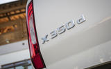 Mercedes-Benz X-Class X350d 2018 first drive review tailgate badge