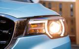 MG ZS EV 2019 UK first drive review - headlights