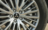 Mitsubishi Outlander PHEV 2018 first drive review alloy wheels