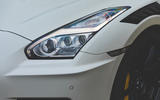 Nissan GT-R Nismo 2020 UK first drive review - headlights