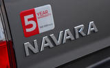 Nissan Navara 2020 UK first drive review - rear badge