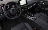 4 Nissan Rogue 2021 USA FD dashboard