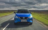 4 Nissan Qashqai 2021 UK FD nose