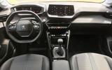 Peugeot 208 2020 prototype drive - interior