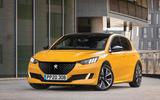 Peugeot 308 render 2022 - static front